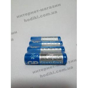 """Батарейки """"GP"""" R6 солевые, 40шт в уп.(код 1030)"""