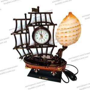 Настольные часы-светильник 8172SM  (код 10400)