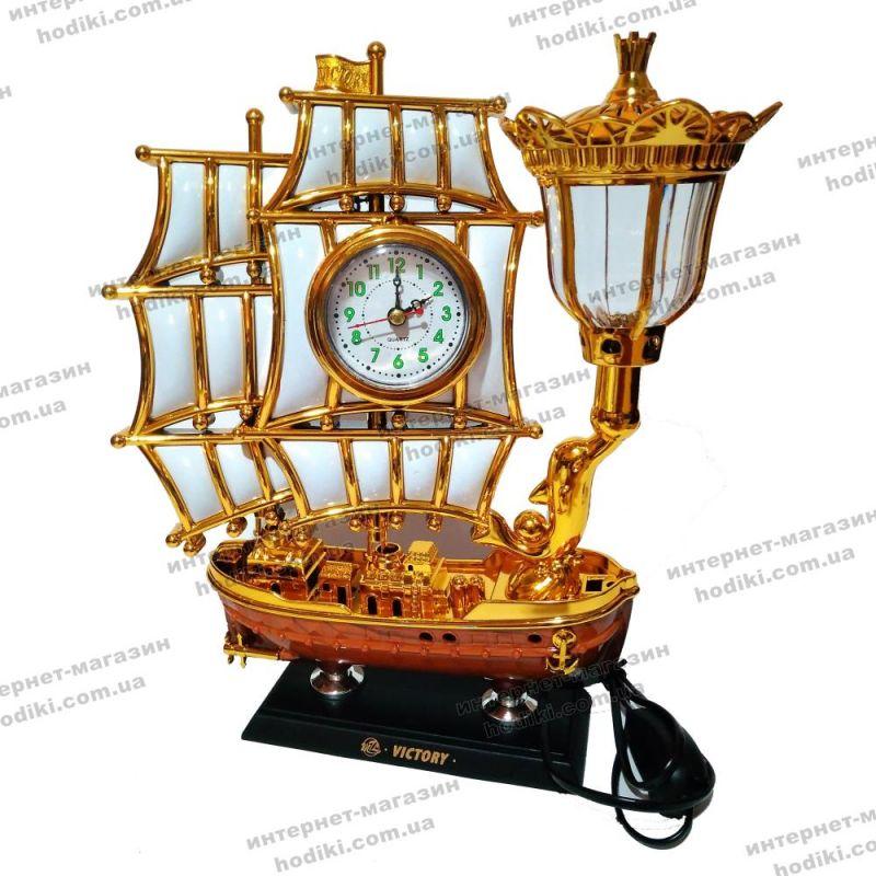 Настольные часы-светильник 8172S-3  (код 10402)