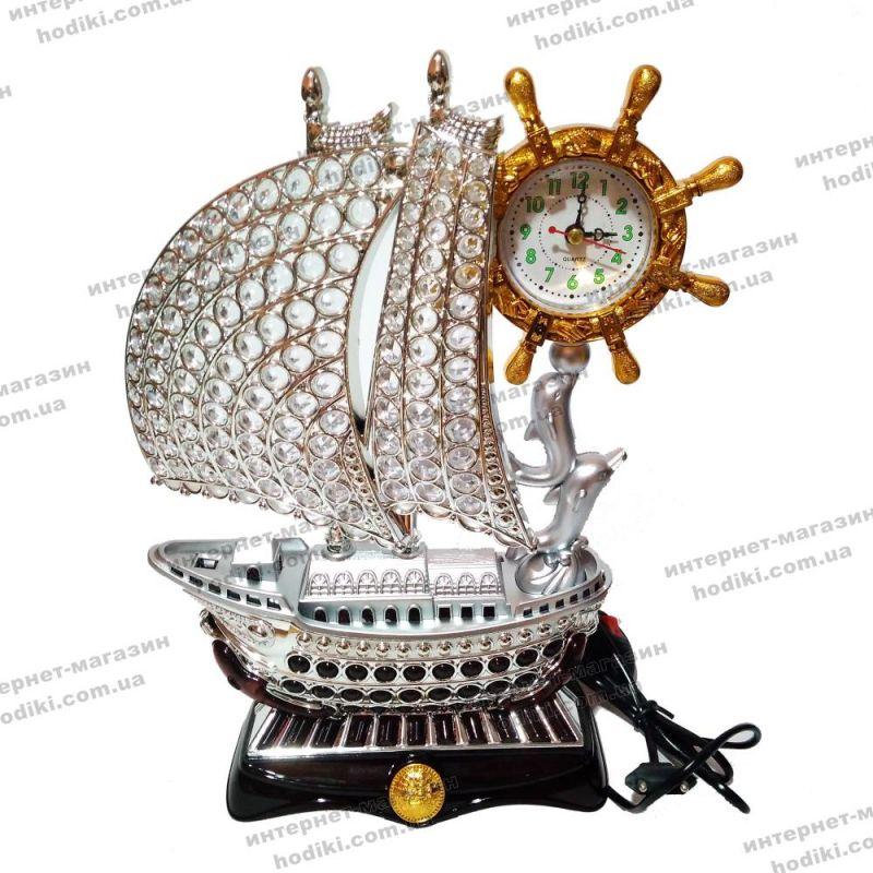 Настольные часы-светильник 8193S-1  (код 10404)