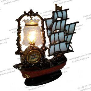Настольные часы-светильник 8128A-1  (код 10405)