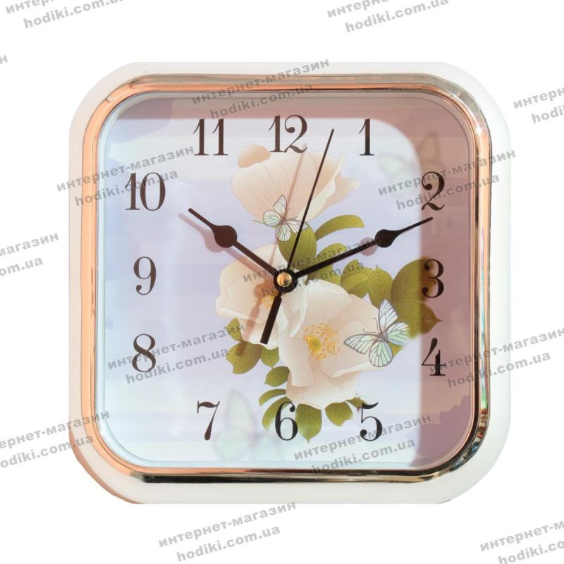 Настенные часы GT-1851F Серебро  (код 10459)