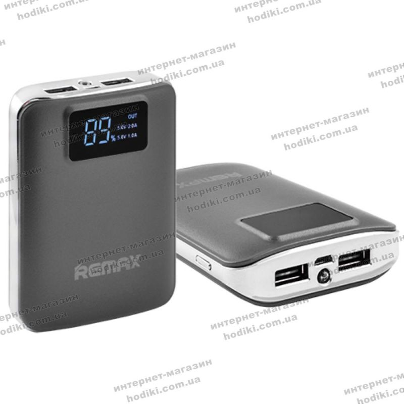 Power Bank REMAX 10000mAh 2USB(1A+2A) №146 (код 10625)