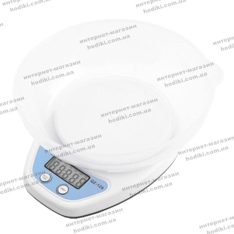 Весы QZ-129, 5кг (1г), чаша (код 10658)