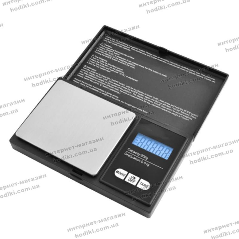 Весы 6256, 200г (0,01г) (код 10672)