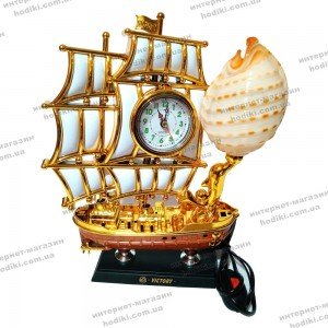 Настольные часы-светильник 8172SM  (код 10399)