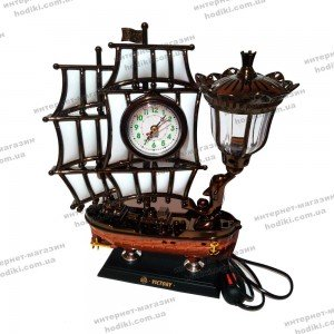 Настольные часы-светильник 8172S-2  (код 10401)