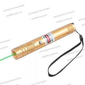 Фонарь-лазер зеленый LM-206, встроенный аккумулятор, ЗУ USB, комплект (код 12864)