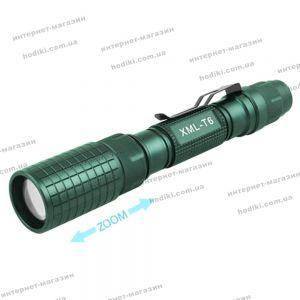 Фонарь Police BL-2804S-T6, 2x18650, ЗУ 220V, zoom, зажим, комплект (код 12924)