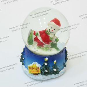 Новогодний снежний шар с подсветкой (код 14736)