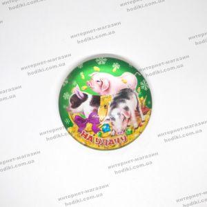 """Магниты """"символ 2019 года Свинья"""" 16-7 (25шт/уп) (код 14899)"""