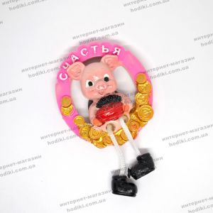 """Магниты """"символ 2019 года Свинья"""" 16-8 (12шт/уп) (код 14900)"""
