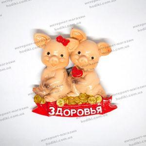 """Магниты """"символ 2019 года Свинья"""" 16-10 (12шт/уп) (код 14902)"""