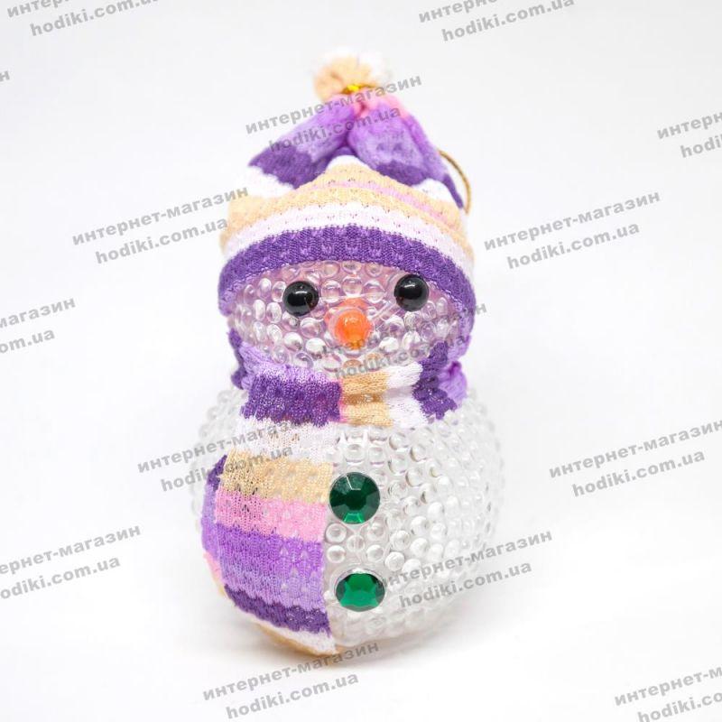 Светяшка Снеговик (с подсветкой) 15-6 (12шт/уп) (код 14909)