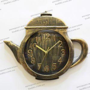 Настенные часы Чайник бол. 37х31 (код 14913)