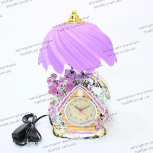 Настольные часы - светильник JG-701 (код 15858)