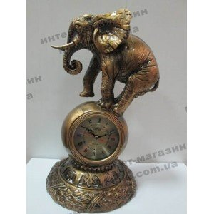 Настольные часы Слон (код 1741)
