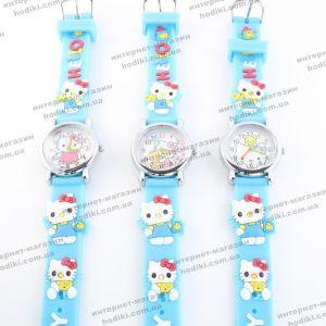 Детские наручные часы Hello Kitty (Подбор картинок случайный) (код 17149)