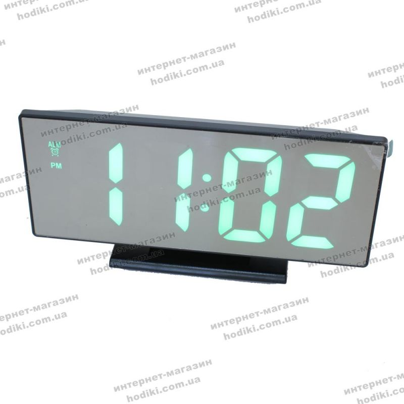 Настольные часы электронные DS-3618L (код 18564)