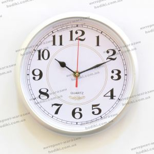 Настенные часы (серебро) 6033 (код 20062)