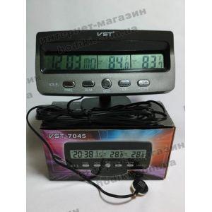 Автомобильные часы VST-7045 (код 2119)