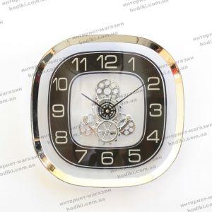 Настенные часы 6601 Серебро (код 22157)