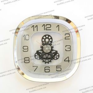 Настенные часы 6602 Серебро (код 22158)