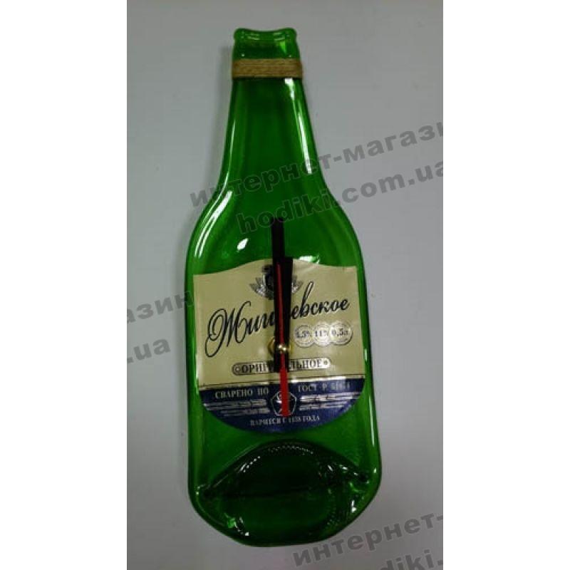 """Настенные часы-бутылка """"Жигулевское"""" (код 2422)"""