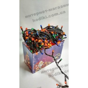 Гирлянда 200 разноцветная (код 2464)
