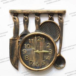 Настенные часы Ножи, Сковорода (код 24134)