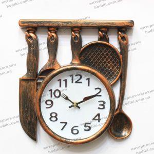 Настенные часы Ножи, Сковорода (код 24135)