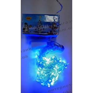 Гирлянда-штора (бахрома) LED 120 белая (код 2514)