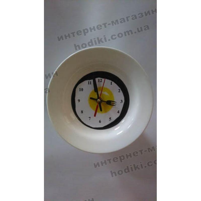 Настенные часы Яичница (код 2708)