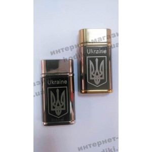 Зажигалка Герб Украины №4403 (код 3106)