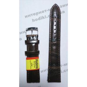 Ремешок для часов Modena темно-коричневый (код 3163)