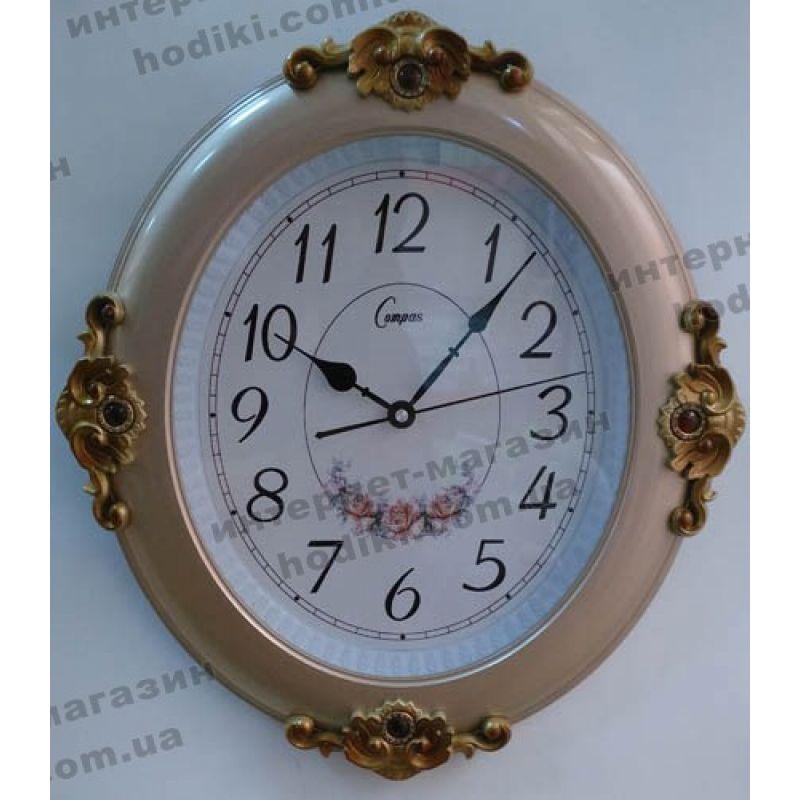 Настенные часы Compass №796010 (код 3343)