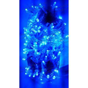 Гирлянда Нить 300led синяя (код 3794)