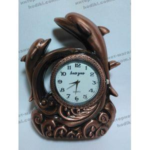 Настольные часы с зажигалкой Дельфины XT-4371 (код 3973)