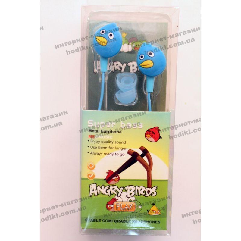 Наушники Angry Birds (код 5421)