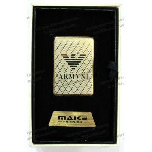 Зажигалка 4693 Armani (код 6060)