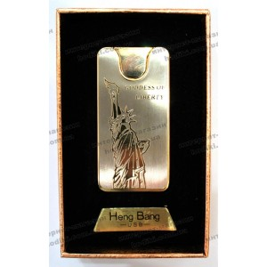 Зажигалка Heng Bang 4689 Статуя Свободы (код 6102)