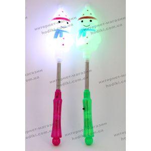 Светяшка на пружине Снеговик 6шт/уп (код 6367)