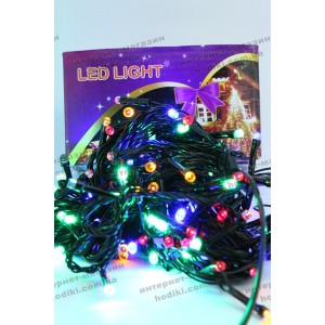 Гирлянда 200 led светодиодная (код 6374)