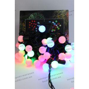 Гирлянда 40 led шарики d-2cм (код 6383)