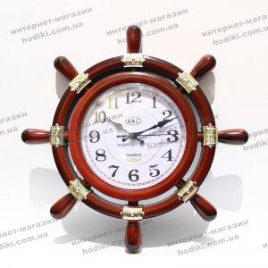 Настенные часы Штурвал W007 (код 7031)