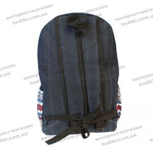 Рюкзак джинсовый (код 7488)