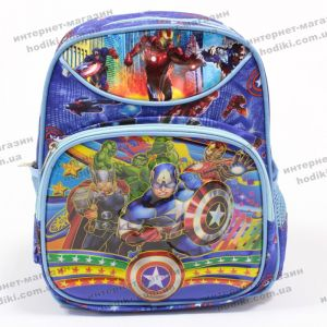 Рюкзак детский 3D Капитан Америка S (код 8285)
