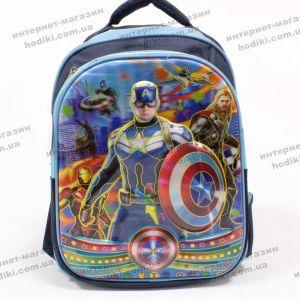 Рюкзак детский 3D Капитан Америка M (код 8297)