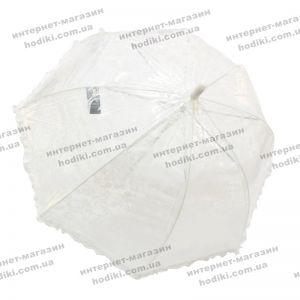 Детский зонт ажурный с рюшами (код 8143)