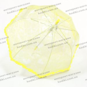Детский зонт ажурный с рюшами (код 8144)